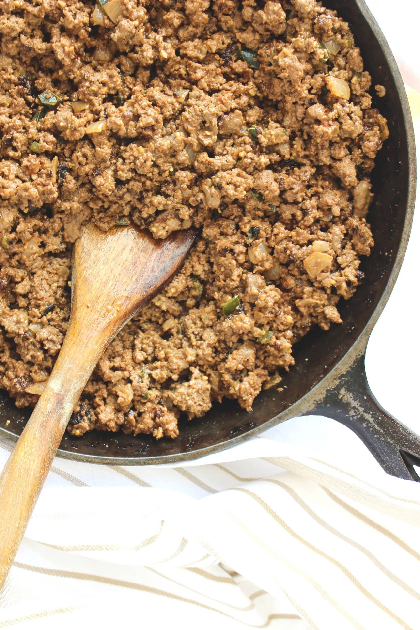Keto Super Taco Meat for keto diet tacos protein option