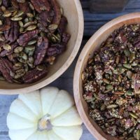 Healthy Pumpkin Spice Trail Mix and Granola