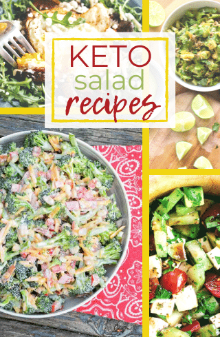 Keto Salad Recipes List