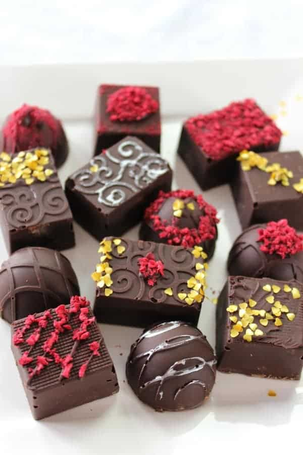 Chocolate Raspberry Truffles
