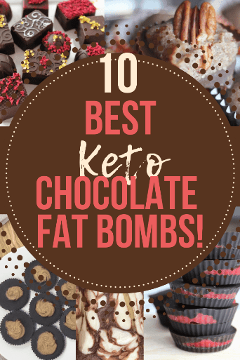 The best ever easy keto and low carb chocolate fat bombs. #macros #ketogenic