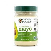 Chosen Foods Avocado Oil Mayo Traditional 12 oz., Non-GMO, 100% Pure, Gluten Free, Dairy Free for Sandwiches, Dressings and Sauces