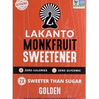 Lakanto Golden, Monkfruit Sweetener, 30 Count