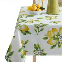 Benson Mills Lemon Bliss Tablecloth 52X70-INCH Multi
