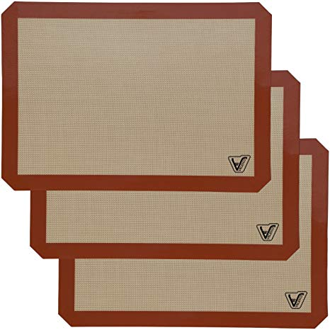 Silicone Baking Mat - Set of 3
