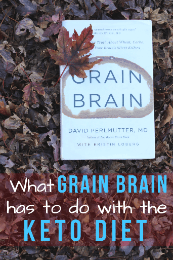 Grain Brain by Dr. Perlmutter is a great read for those researching the keto diet! How does grain, specifically wheat and gluten, affect our brains? You'll be shocked to see how a low carb keto diet can improve your brain health now and as you age. #alzheimers #grainbrain #keto #ketobook #dietbook #glutenfree