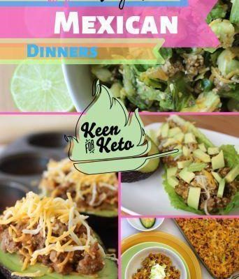 Keto Mexican Recipes – Low Carb Mexican Dinners