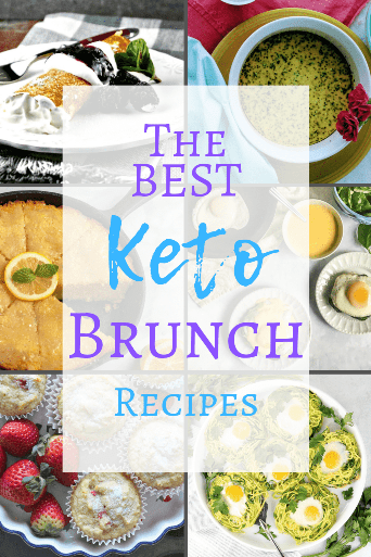 Who wants to go to brunch at a restaurant and deal with trying to order keto from a carb-loaded menu! Instead, fix up a delicious keto home-cooked brunch! I've got all the keto brunch recipes you'll need for your keto brunch menu! Try out an easy low carb noatmeal creme brulee, instant pot frittata, or dairy free keto strawberry muffins. Your guests will love your home-cooked low carb brunch menu! From Keenforketo.com | Keto brunch recipes | Keto diet | low carb recipes | keto breakfast ideas
