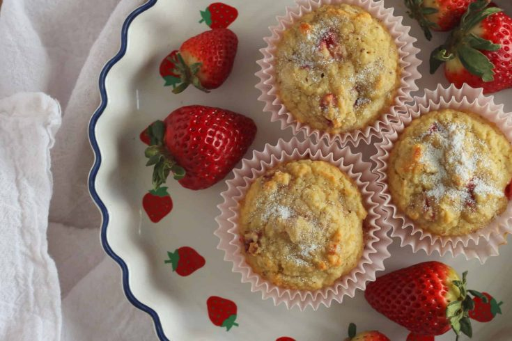 Strawberry Muffins : An Amazing Low Carb Muffins recipe