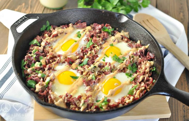 Corned Beef Hash Breakfast Skillet
