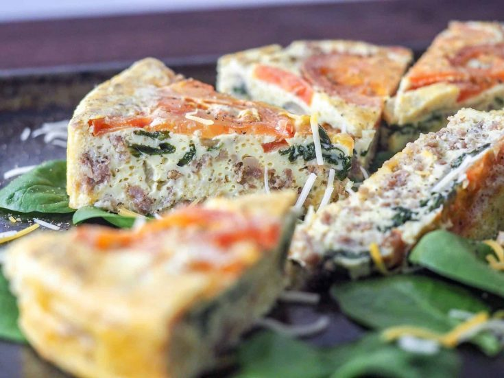 Instant Pot Frittata: Keto, Whole 30, WW