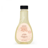 ChocZero's Sugar Free Vanilla Syrup - Low Carb (1g net carb), No Sugar, No Preservatives, No Sugar Alcohol.