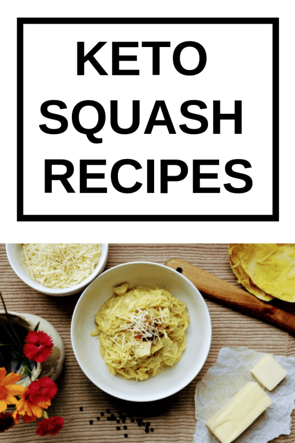 Looking for some keto squash recipes? Yellow squash, zucchini, butternut squash, hubbard squash, acorn squash, spaghetti squash, winter squash, oh my! So many yummy varieties to choose from! Try some of these ketogenic squash recipes. keenforketo.com | low carb squash recipes | keto squash dinner | keto recipes | keto yellow squash recipes | keto spaghetti squash recipes