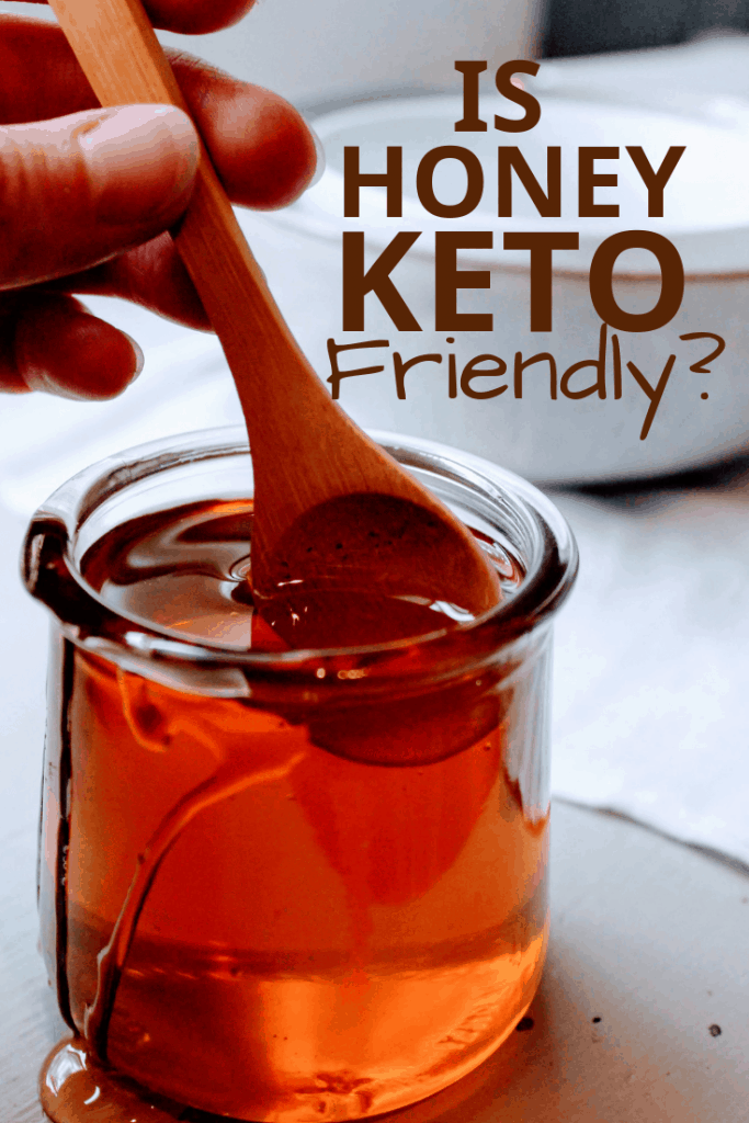 Is honey keto diet friendly? Let Keen for Keto tell you everything you need to know about honey on the keto diet! keto articles | keto diet recipes | ketogenic diet tips | sugar free honey substitutes
