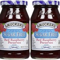 Smucker's Red Raspberry Sugar Free Preserves - 12.75 oz - 2 pk