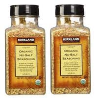 Kirkland Signature Organic No- Salt Seasonin, 14.5 Ounce (Pack of 2)