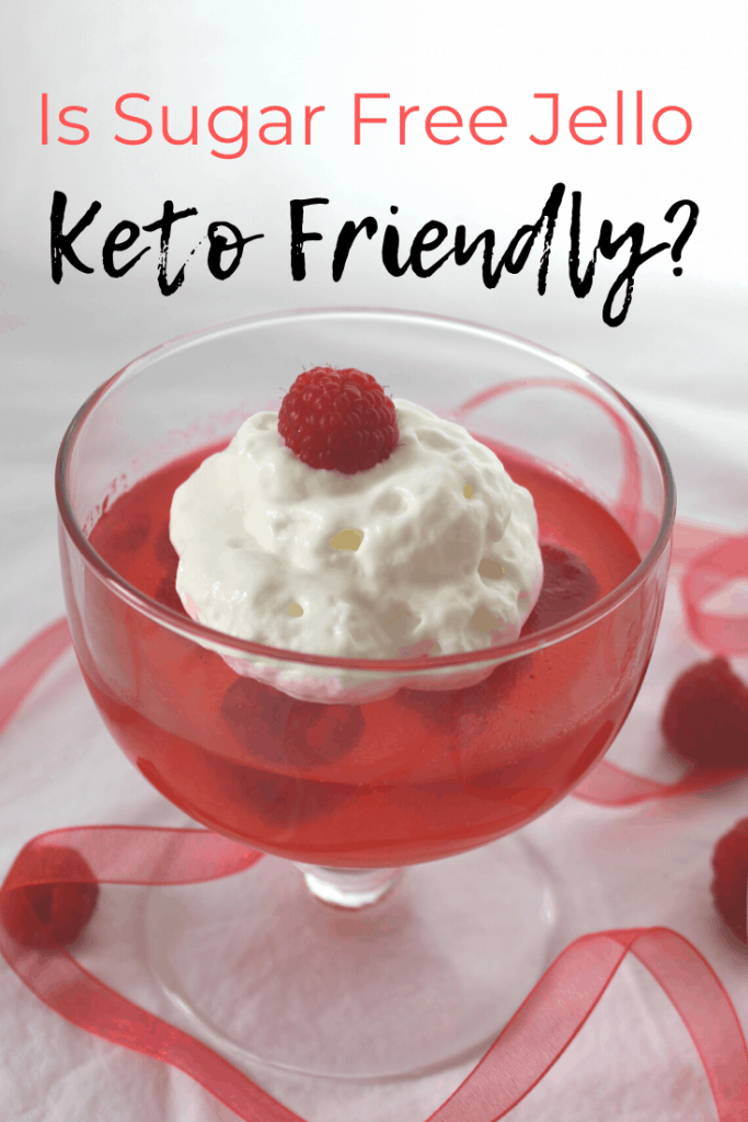 Is Sugar Free Jello Keto Friendly? Is aspartame okay on keto? How can I make keto friendly jello our of natural gelatin? Find out! Keen for Keto | keto desserts | sugar free dessert | keto gelatin