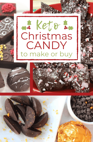 Sugar Free Christmas Candy to make or buy